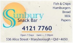 Sunbury Snack Bar, Maryborough
